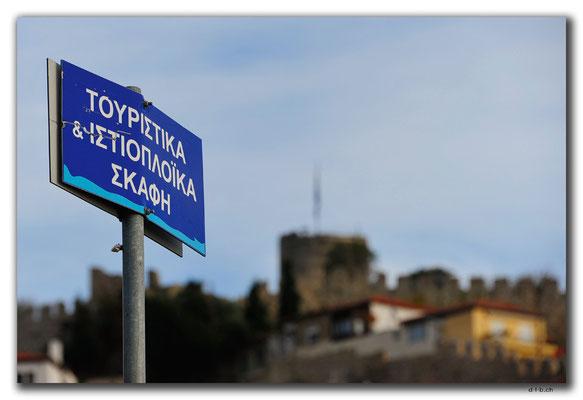 Griechenland.Kavala.Akropolis