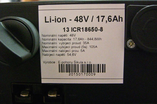 CZ: Neue Batterie vom Solatrike