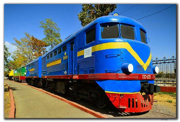 UZ0185.Tashkent.Railway Museum