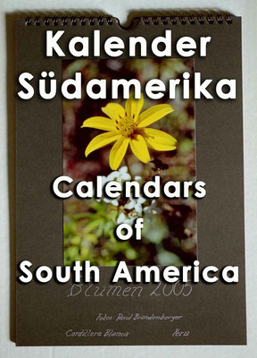 Kalender Südamerika / Calendars of South America