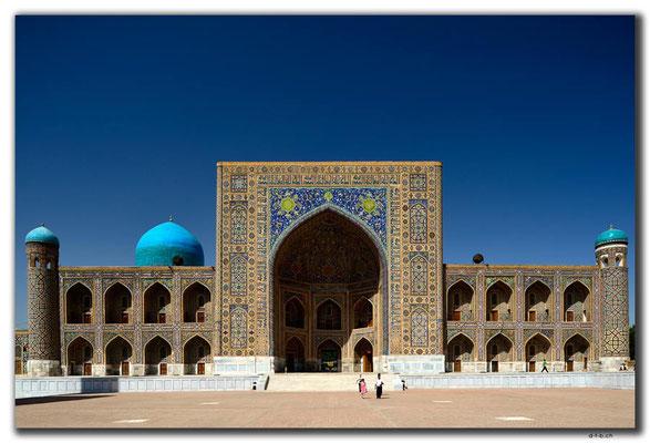 UZ0062.Samarkand.Registan.Tilla-Kari Medressa