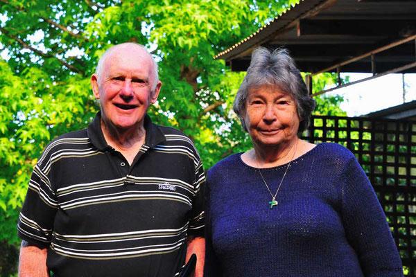 AU: Gastgeber Chris & Judy in Bridgetown