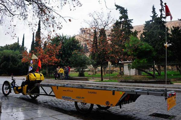 GR: Solatrike in Athen, Akropolis