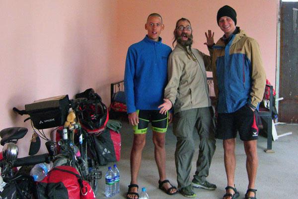 UZ: Richard, David und Alexander, zwei Radler aus Deutschland