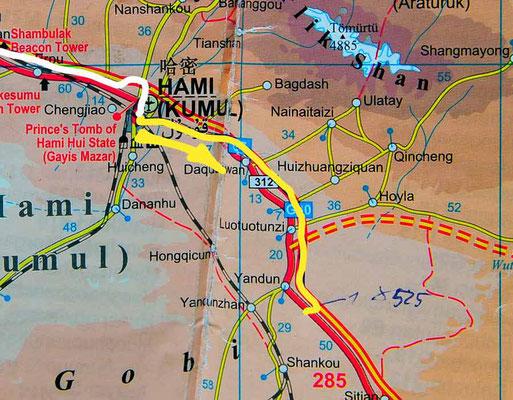 Tag 233: Hami - Yandun