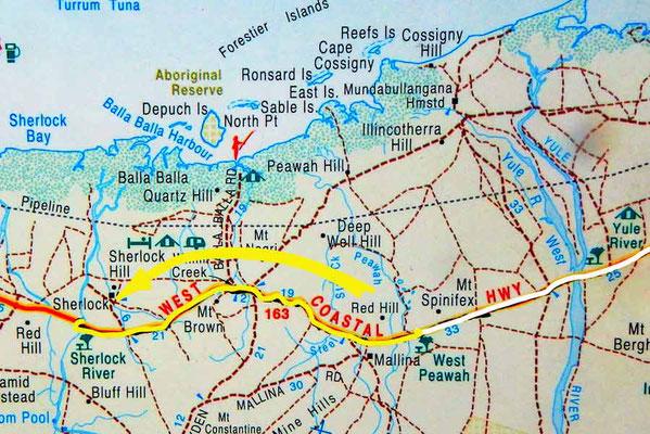 Tag 320: Peawah R.A. - Sherlock River