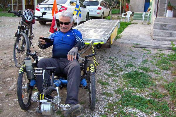 TR: Solatrike in Antalya, Veloausflug