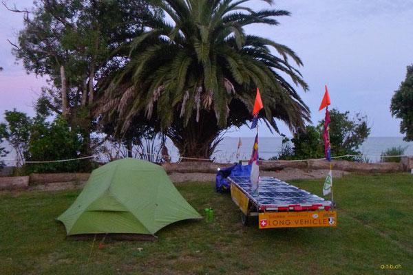 NZ: Solatrike in Parapara (Holiday Park Golden Bay)