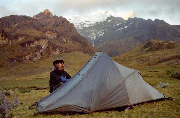 Peru, Cordillera Blanca Double X-ing