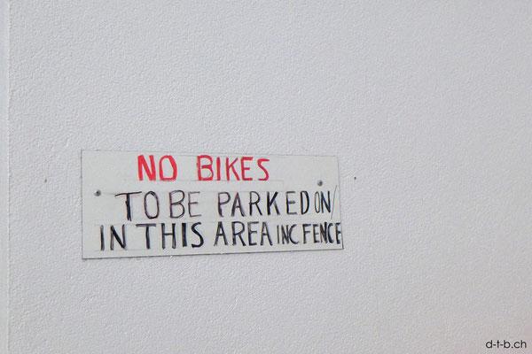 Australien.Port Adelaide. No Bikes