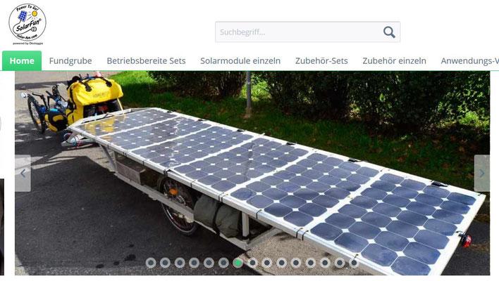 Erwähnund bei SolarFun
