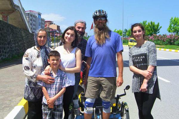 TR: Solatrike mit Türkischer Familie