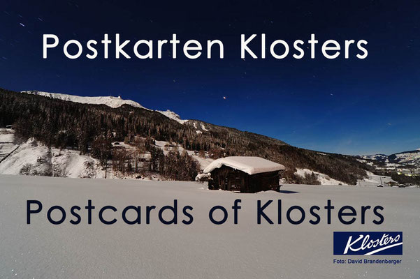 Fotogalerie Postkarten von Klosters / Photogallery Postcards of Klosters