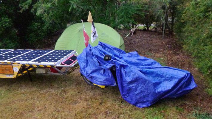 NZ: Solatrike in Wai-Natur Camping