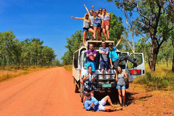 Australien, Kakadu N.P. Reisegruppe