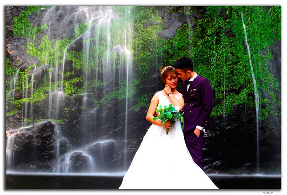 VN0072.Sapa.Love Waterfall.Wedding Photo