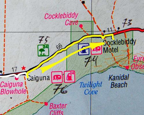 Tag 380: Caiguna - Nuytsland Nature Reserve