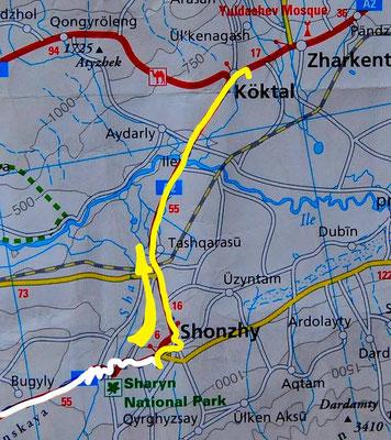 Tag 219: Shonzhi - Köktal