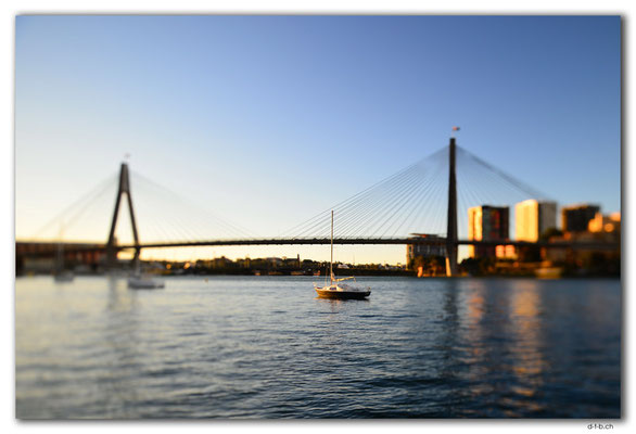 AU1705.Sydney.Blackwattle Bay.ANZAC Bridge
