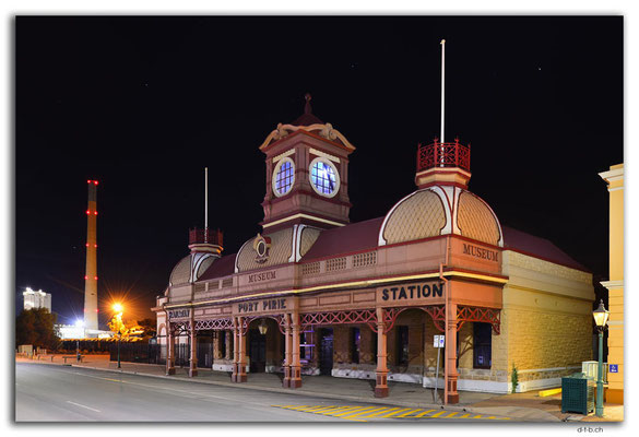 AU1078.Port Pirie.Alter Bahnhof