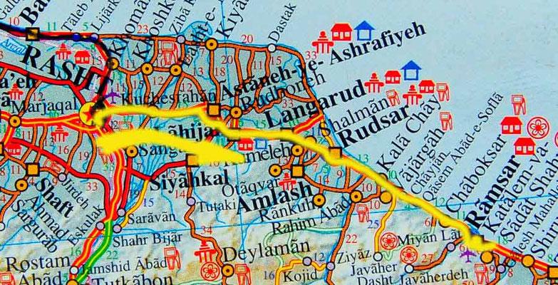 Tag 189: Rasht - Ramsar