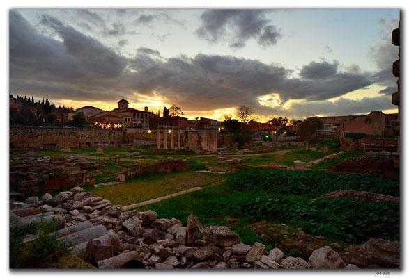 GR0399.Athen.Hadrians Bibliothek