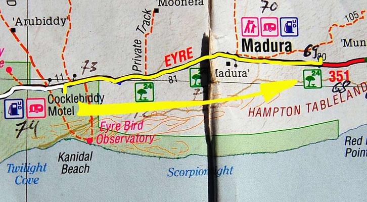 Tag 381: Nuytsland N.R. - Moodini R.A.