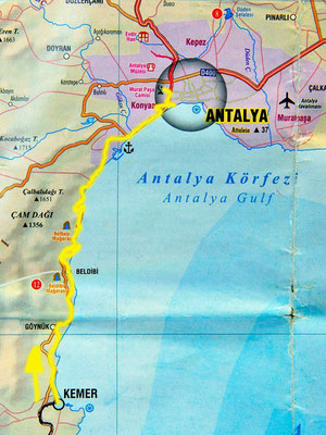 Tag 135: Kemer - Antalya