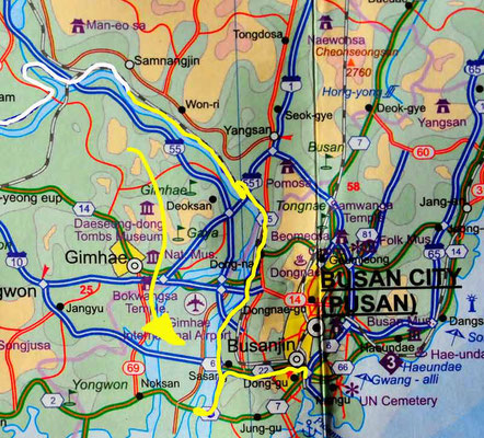 Tag 280: Hamp'O - Busan (Karte)