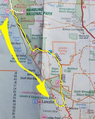 Tag 351: Hangover Beach Bay - Lancelin