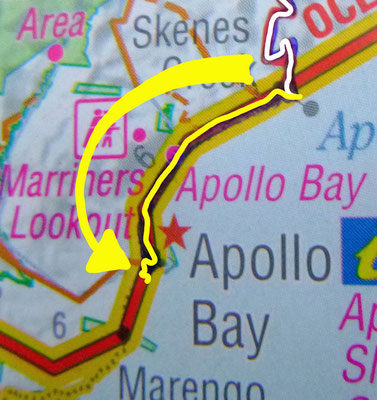 Tag 426: Skenes Creek - Apollo Bay
