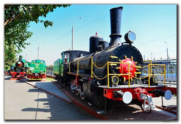 UZ0181.Tashkent.Railway Museum