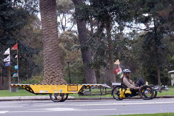 AU: Perth. Kings Park. Carrying an Elephant (Photo: Tom Hogarth)