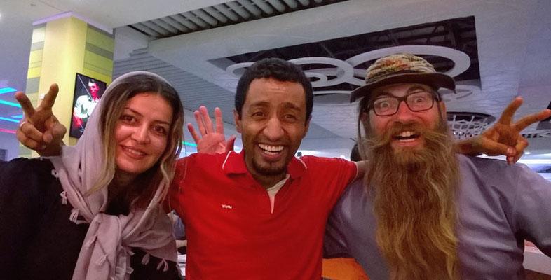 IR: Isfahan, Nafise, Khosrow und David (Photo: Khosrow)