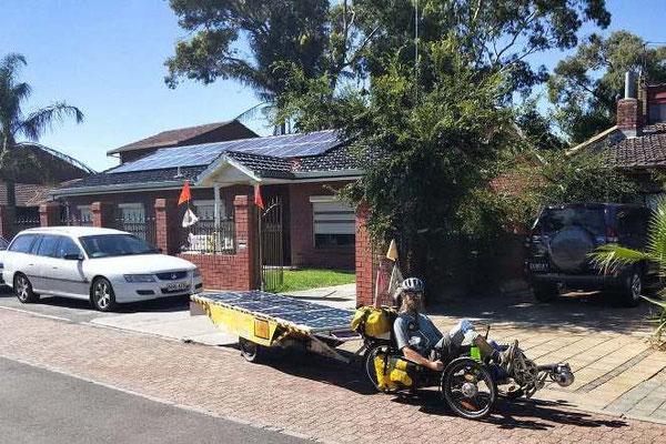 AU:Leaving Adelaide. (Photo: Robert)