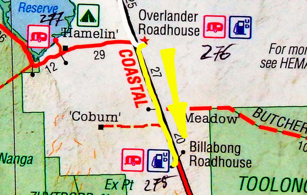 Tag 336: Overlander Roadhouse - Billabong Roadhouse