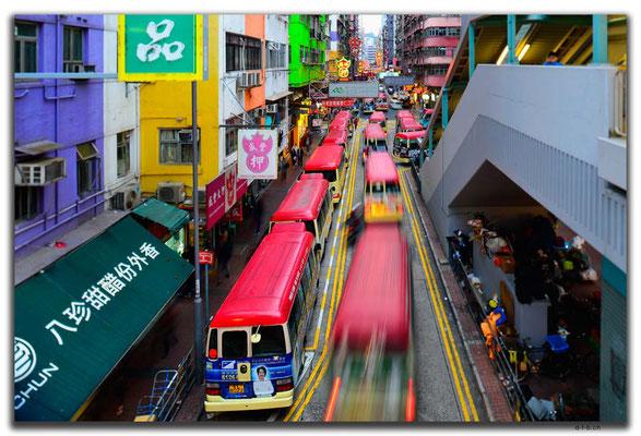 HK0138.Kleinbusse.Mong Kok