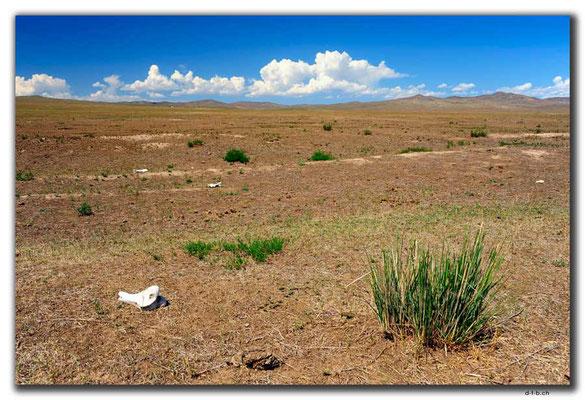 MN0085.Mongolische Landschaft