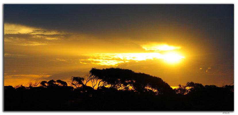AU0942.Nullarbor N.P. Sunset