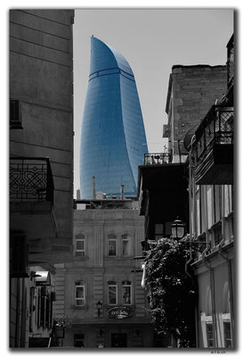 AZ031.Baku.Flametower