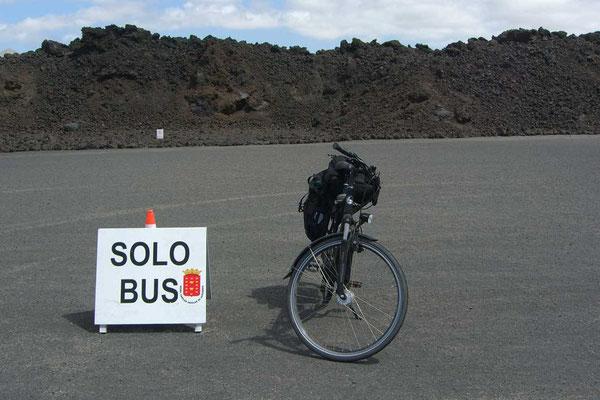 Spanien,Lanzarote,Los Hervideros. Solo Bus!!!