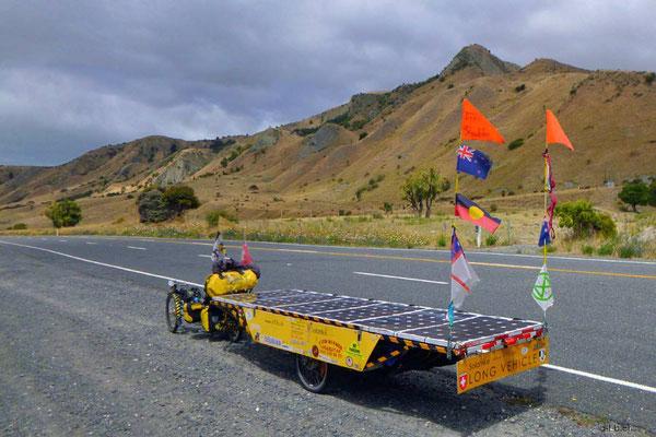 NZ: Solatrike an der Ostküste der Südinsel