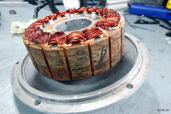 AU: Albany. Solatrike Vordermotor. Magnete verrostet