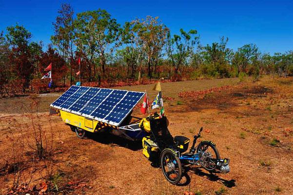 AU: Solatrike am Sonne tanken in Australien