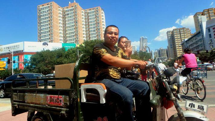 China,Dreirad