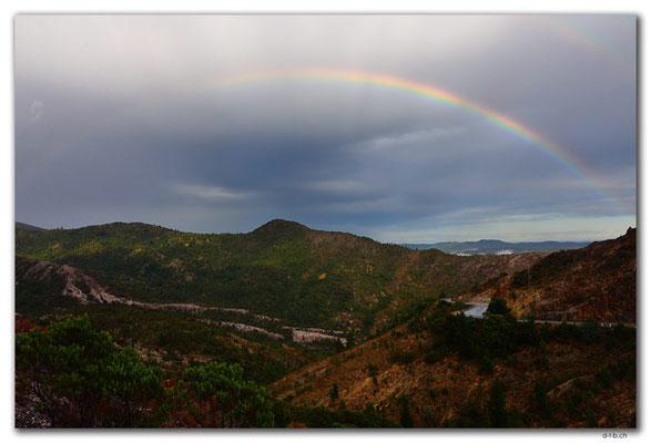 AU1425.Rainbow over Queenstown