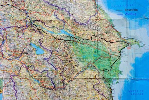 Armenien und Azerbaijan