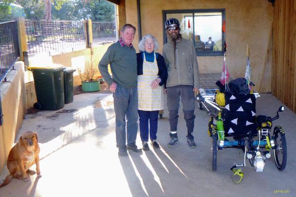 AU: Solatrike bei Iain und Sue in Stratford