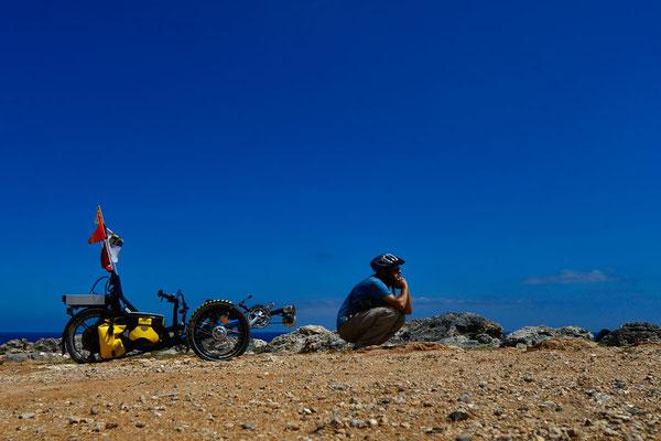 CTR: Solatrike am Kap Andreas am östlichsten Ende Zyperns
