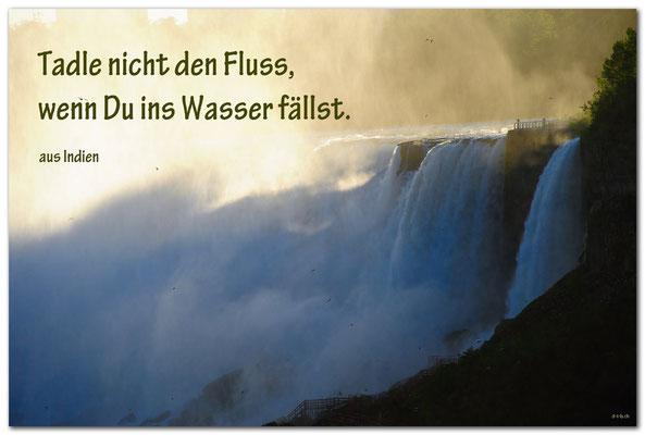 S0209.Niagara Falls.CA. Text aus Indien